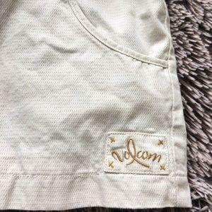 Volcom Jackets & Coats - Volcom cotton coat jacket medium yellow beige
